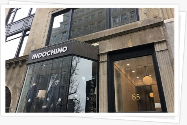 Feature picture frame interior commercial painting indochino