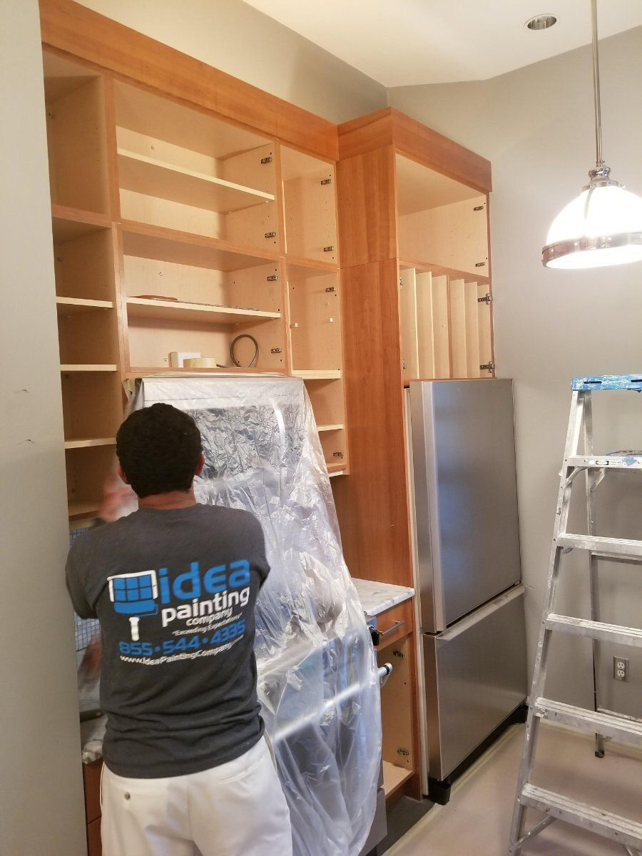 kitchen cabinet painting boston ma 14