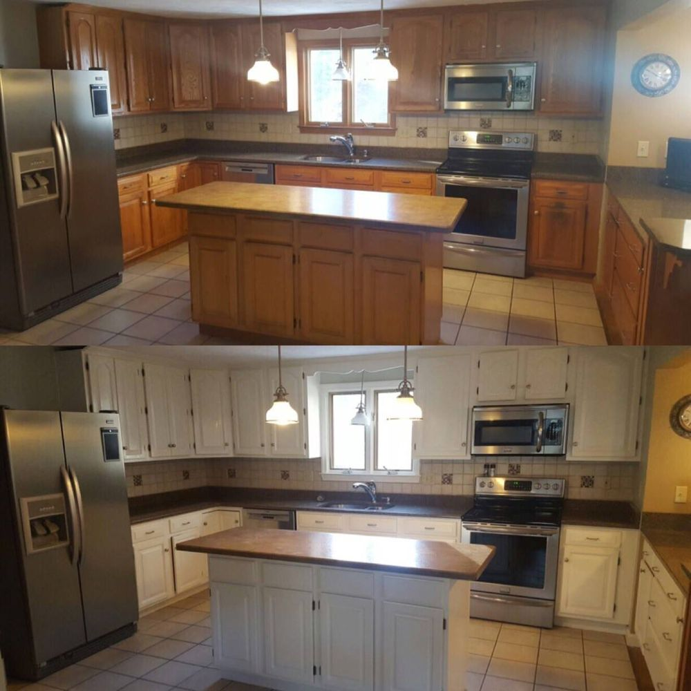 kitchen cabinet refinishing medfield westwood dover sherborn ma 3