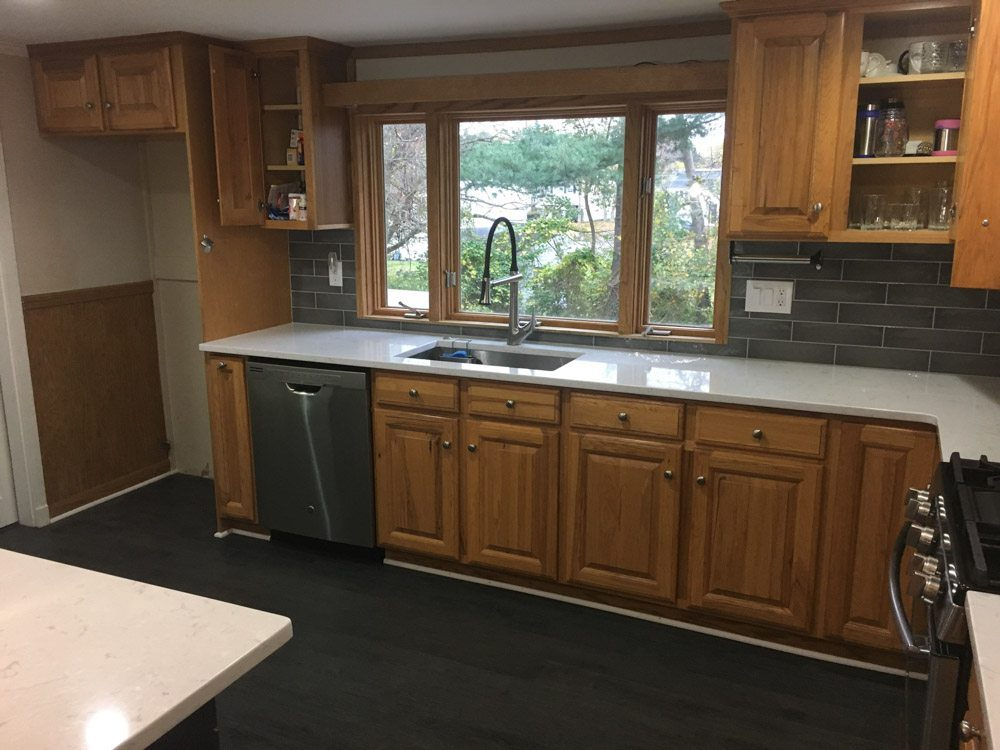 kitchen cabinet refinishing medfield westwood dover sherborn ma 2